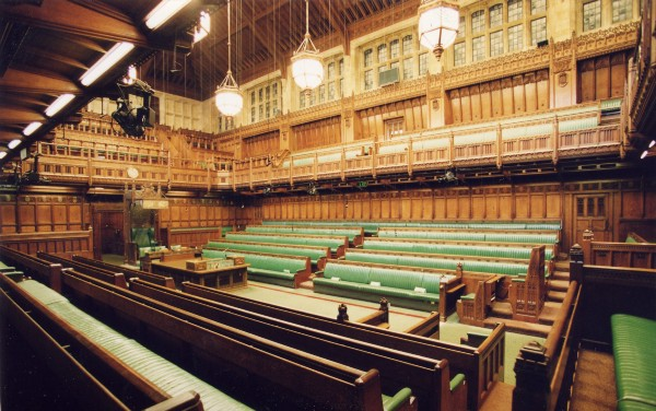 The chamber of the House of Commons. There are no MPs in sight. That might be because their work in the chamber of the House of Commons is only part of the job. Image [(c) Parliament. CC BY-NC-ND2.0](https://www.flickr.com/photos/uk_parliament/2700311137/)