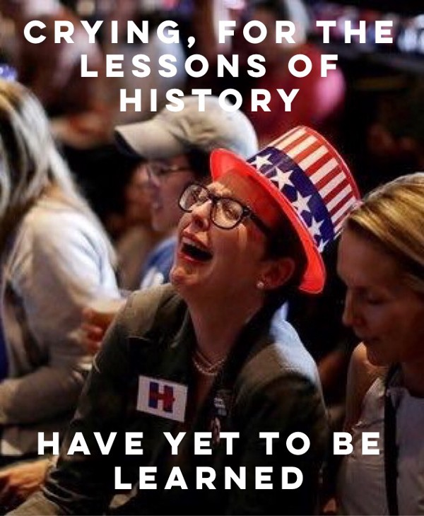 How This Crying Liberal Iowan Became A Worldwide Meme For Those