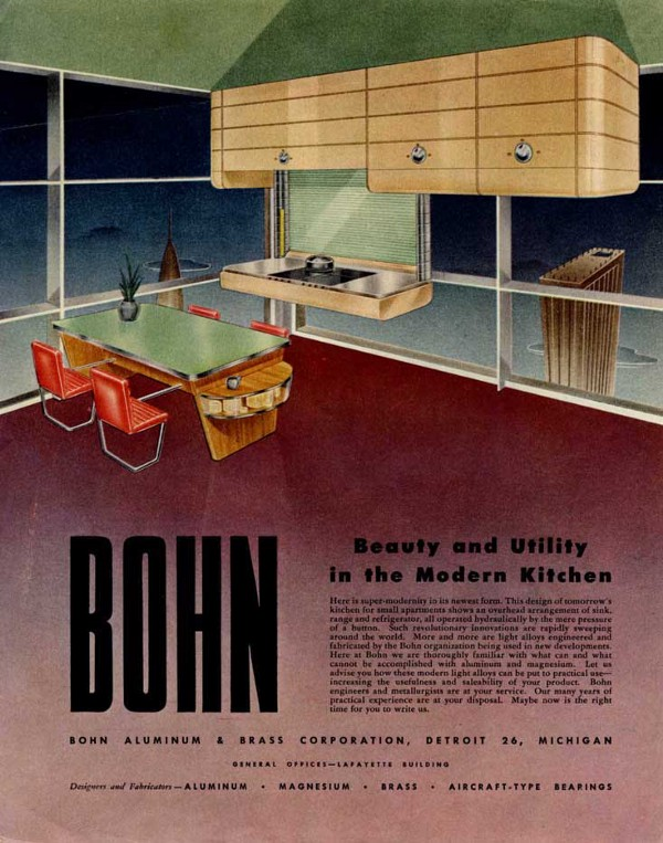 """Beauty and Utility in the Modern Kitchen."" Arthur Radeburgh for BOHN."