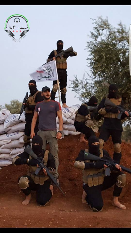 "Northern Thunder Brigade, a very recent VSO FSA ""Special Forces"" Brigade based in Mare' North Aleppo"