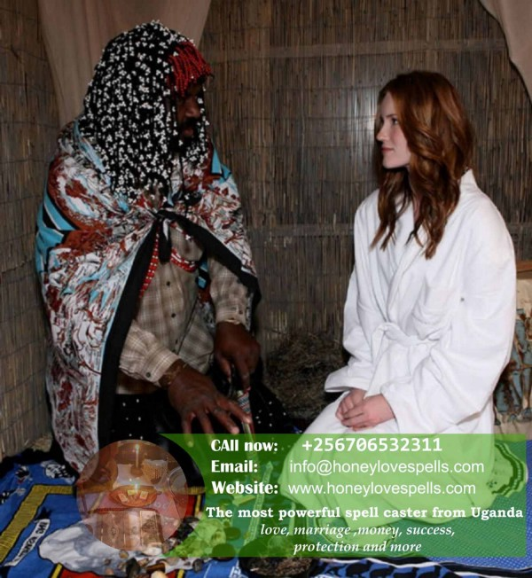Traditional, spiritual healer in the world, from Uganda