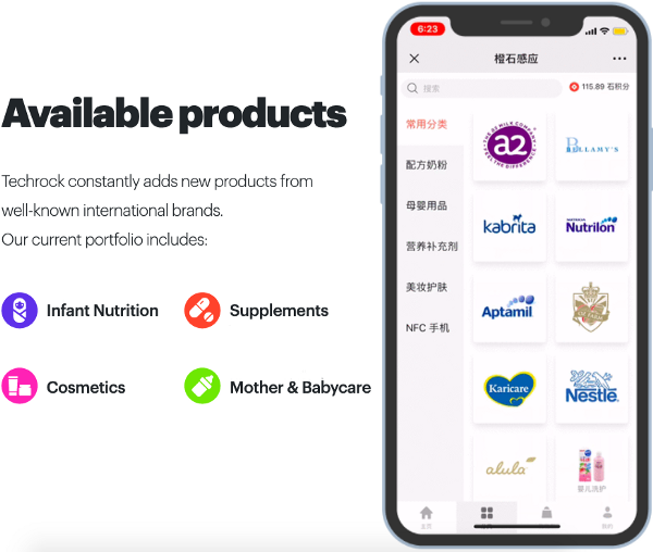 Products available on the Tael Ecosystem ecommerce platform