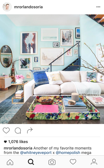 No place like home 10 d cor influencers to follow right now for Creative director of interior design
