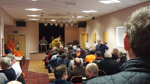 Image by author of the January 2016 Blackpool Supporters Trustmeeting.