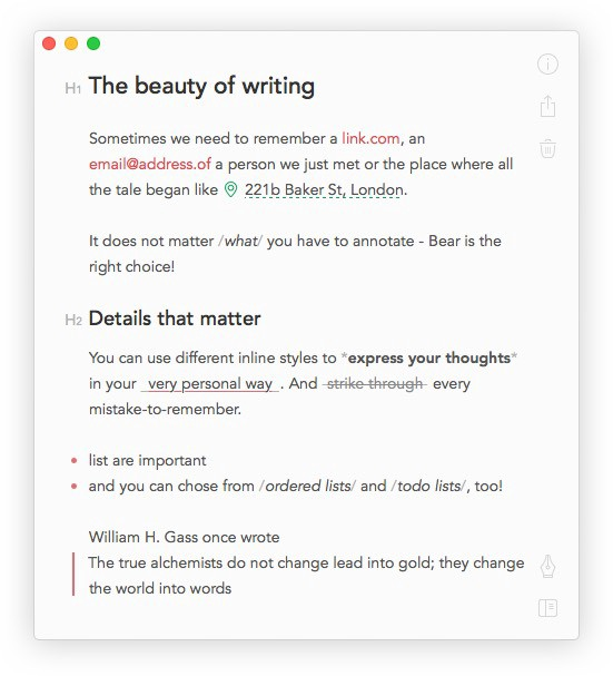 How Bear Notes became Apples 1 App Francesco DAlessio Medium – Note Taking Template Microsoft Word
