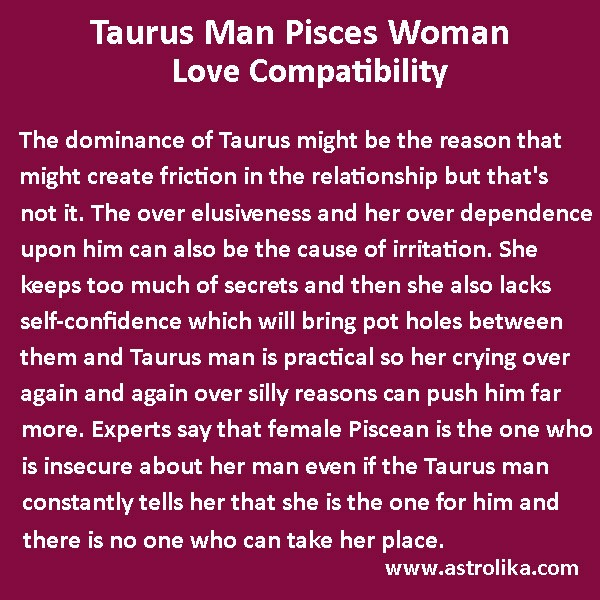 Libra man and taurus woman in love