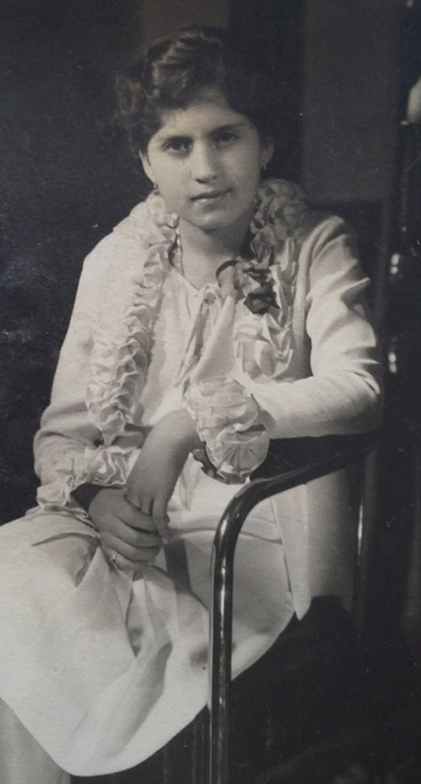 Martha Gonzalez, Age 16, Grandmother of Mario Bravo