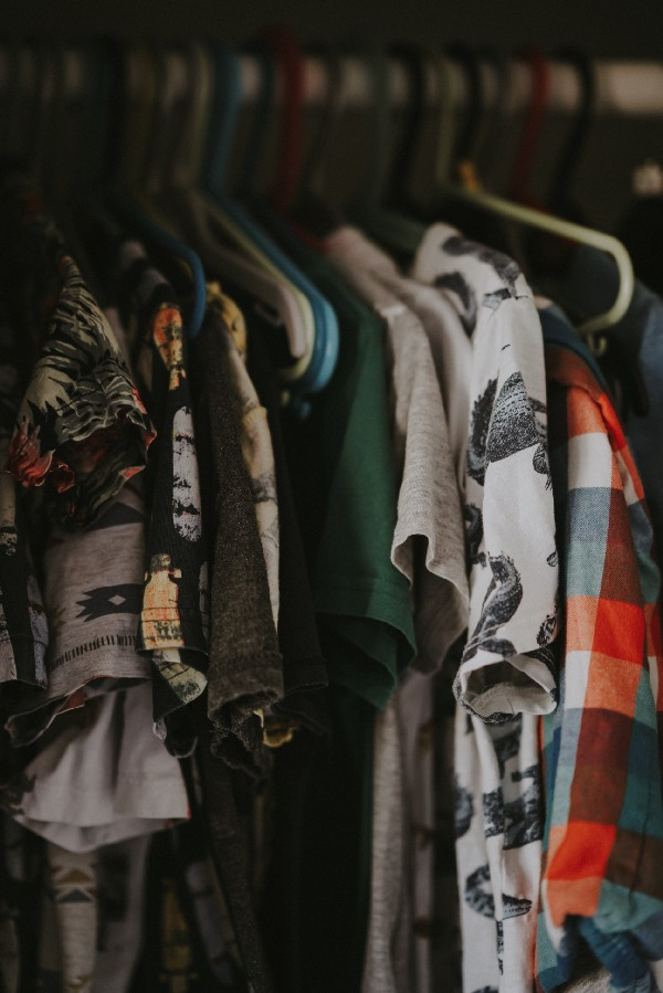 closets can easily get out of control - here's how to reduce closet clutter