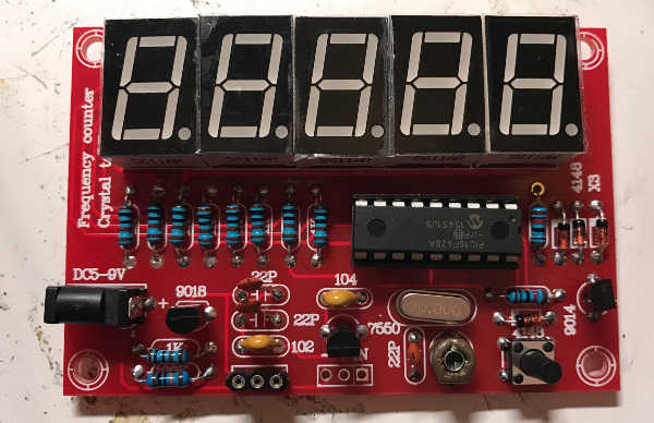 Amplifier Frequency Counter : Crystal oscillator tester frequency counter kit review
