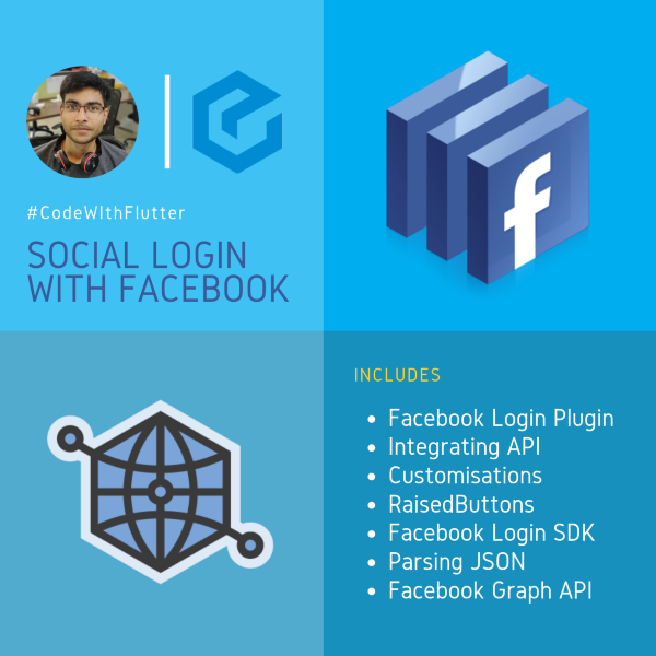 Flutter tutorial: Native app building and Facebook Authentication