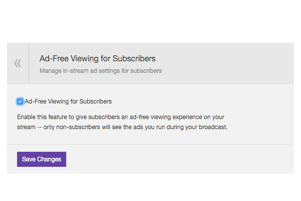 We announced Ad-Free Subs at the PAX East Twitch Town Hall last week, and  now it's here! Starting today, Partners have the option to include Ad-Free  Viewing ...