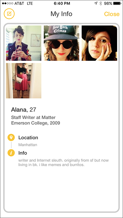 Most successful adult dating profile template