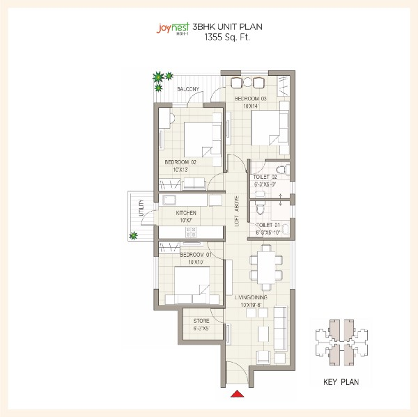 2 bhk apartment for sale in Sushma Joynest Mohali