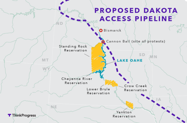 Image result for picture of keystone and dakota access pipelines