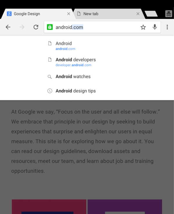 chrome how to go incognitto in android
