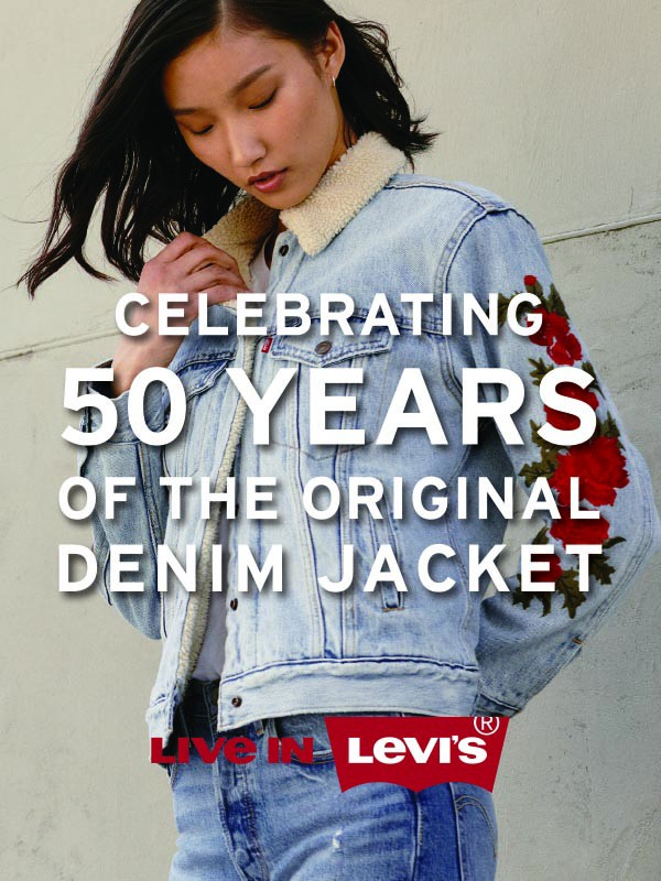 2af8d473ad THE LEVI S® TYPE III TRUCKER CELEBRATES 50 YEARS OF CLASSIC DESIGN