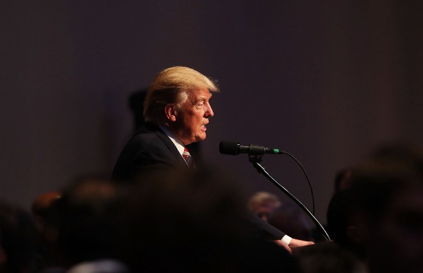 Donald Trump Says Hillary Clinton Lacks a 'Presidential Look'