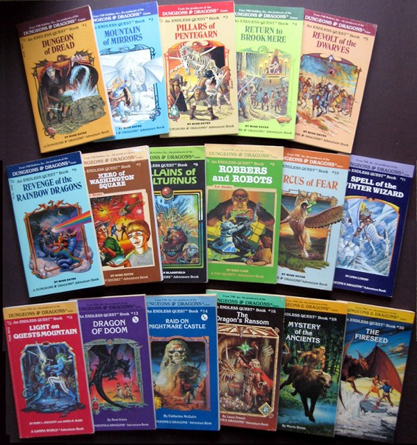 Let S Bring Back Choose Your Own Adventure Books Val