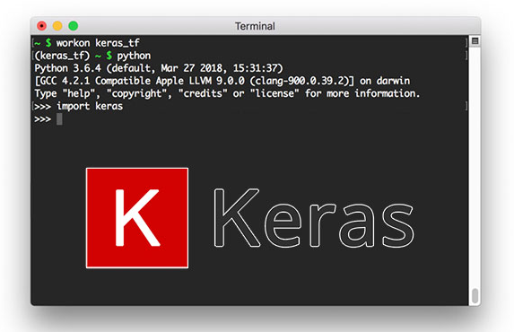 K as in Keras…simple classification model! – mc ai