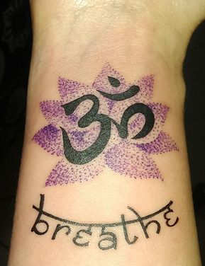 Esther nagle breathe tattoo