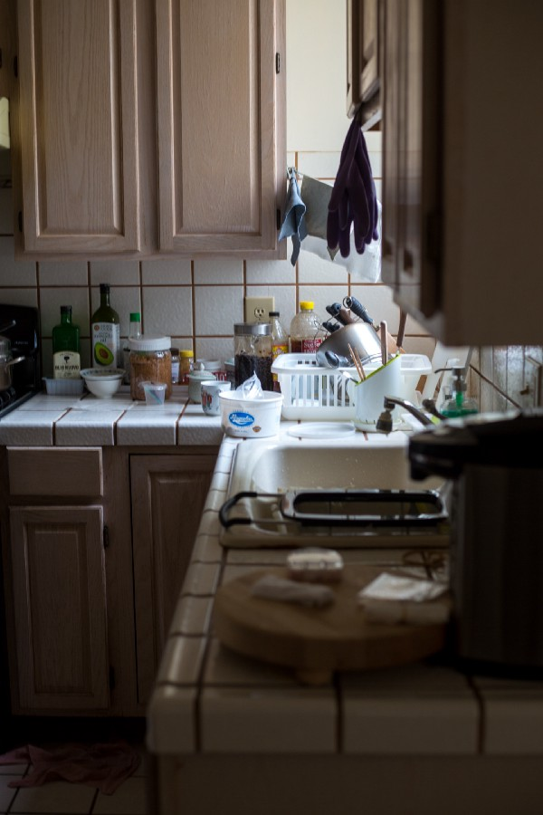 get your dishes under control so you don't feel overwhelmed
