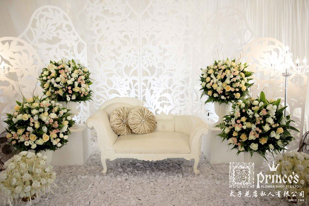 Wedding and event decoration services in singapore prince fs medium when shopping at our singapore florist store you are never limited by the choice of wedding flowers only fresh and gorgeous flowers go into our wedding junglespirit Image collections