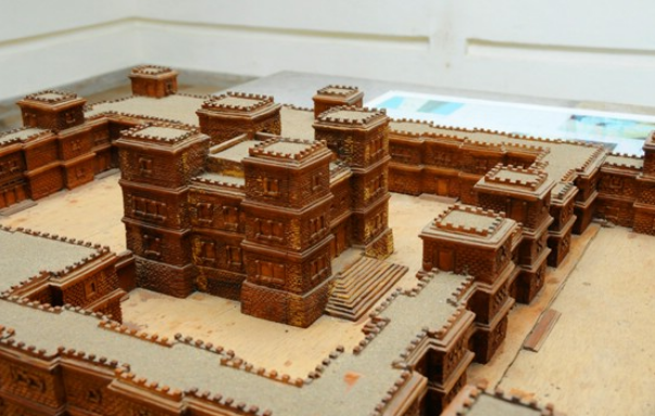 A reconstruction of the royal palace at Aksum