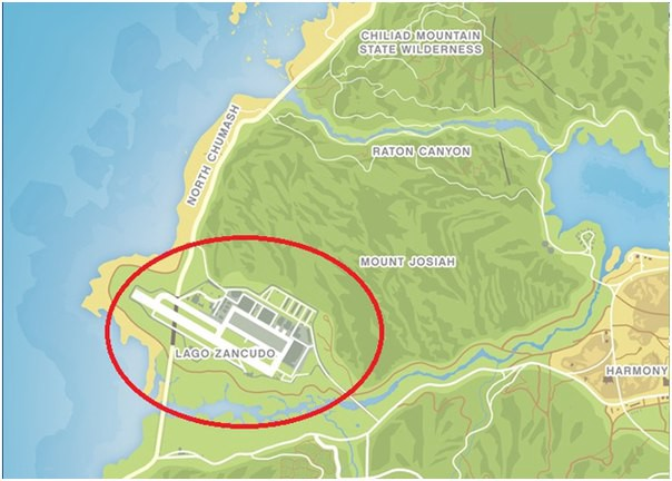 where to find a military base in gta 5 with picture
