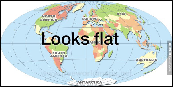 The flat earth society perfectly postmodernist sean g medium the flat earth society perfectly postmodernist gumiabroncs Choice Image