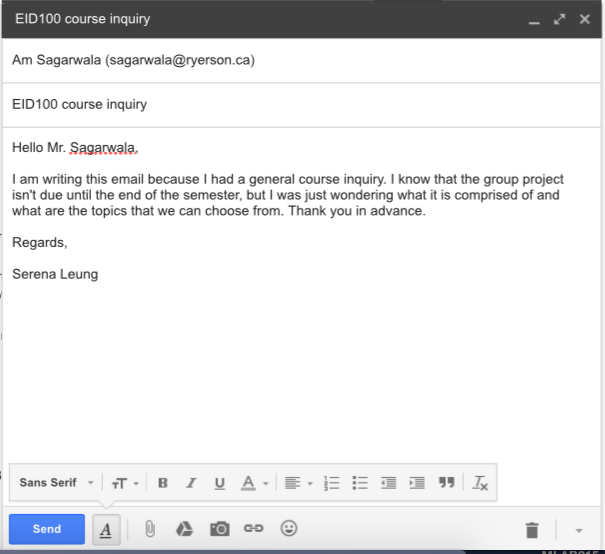 How to write an academic email serena leung medium most professors will take up to 48h to reply to an email so just be patient if you havent receive a reply right away after all they have their own lives ccuart Choice Image