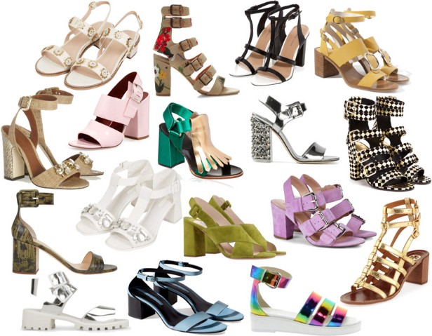 Mid low sandals of this season!