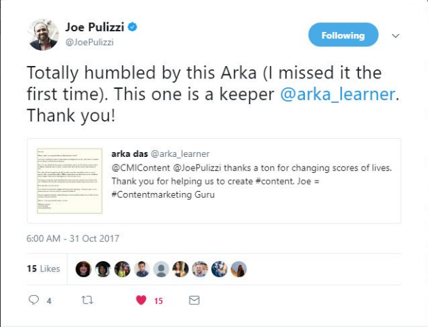The best business hack that i learned last year was from joe the best business hack that i learned last year was from joe pullizi and the content marketing institute malvernweather Choice Image