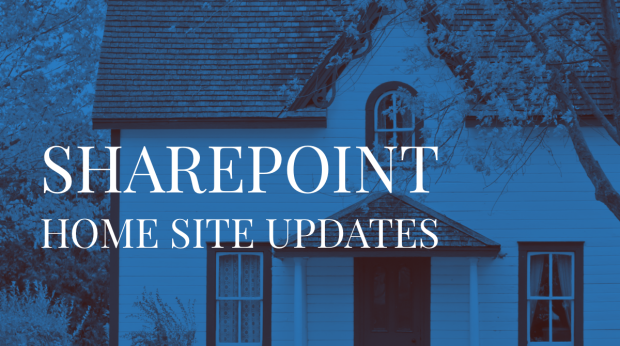 SharePoint Home site updates with DC Padur
