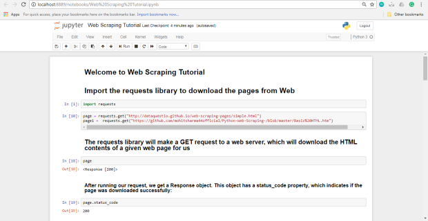 Web Scraping Web Scraping with Python and BeautifulSoup | Bitcoin