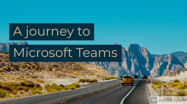 A Microsoft Teams discussion with Laurie Pottmeyer