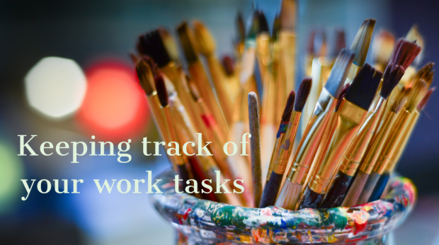How do you track your work tasks?