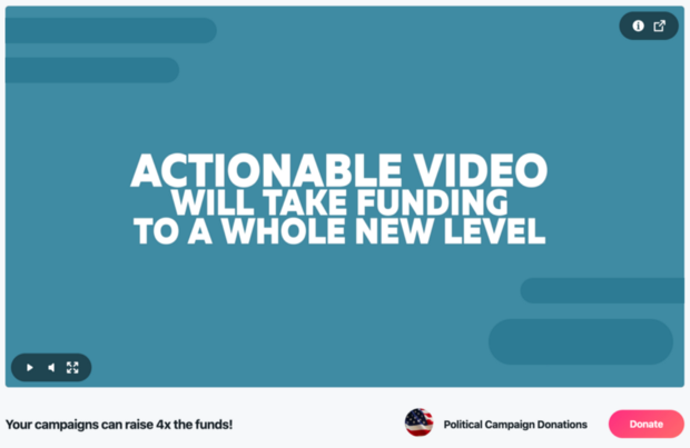 Convert Viewers into Donors for Your Political Campaign