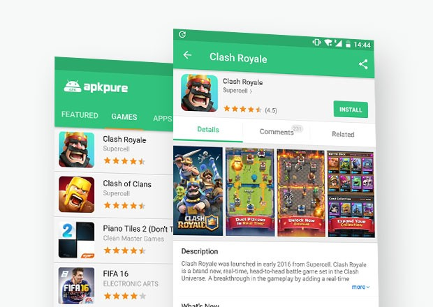 Android Applications that aren't available on Google Play