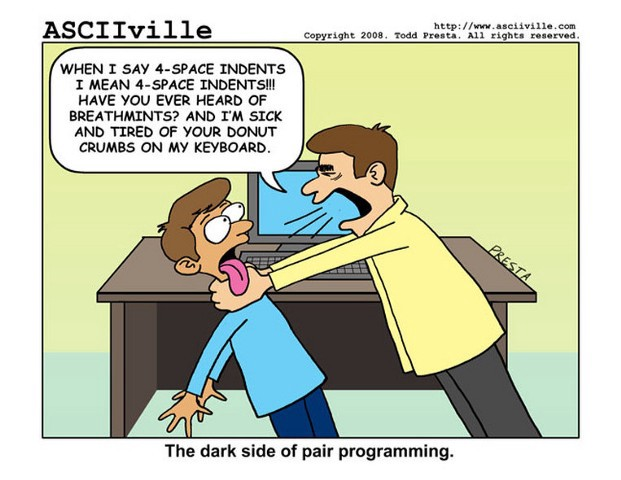 The Dark Side of Pair Programming