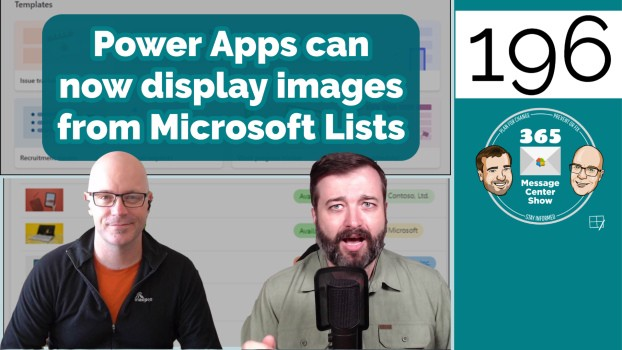Power Apps can now display images from Microsoft Lists