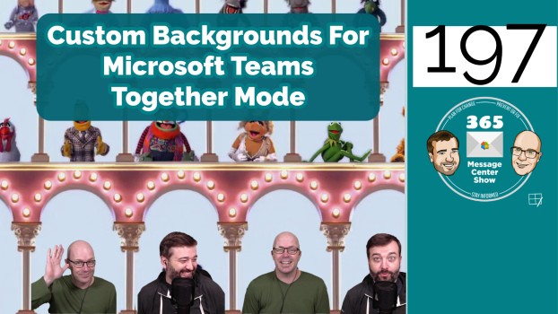 Custom Backgrounds For Microsoft Teams Together Mode