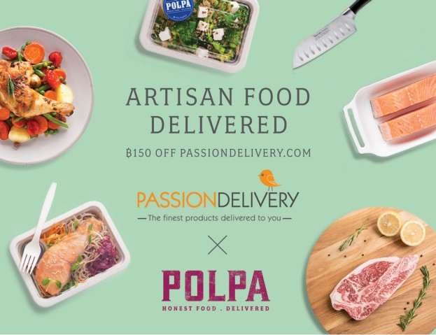 polpa x passion delivery, artisan food delivered