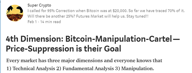 The worlds worst crypto article of all time cryptomedication medium with such a bold title i figured this should be a good read what cartel is this individual talking about ccuart Choice Image