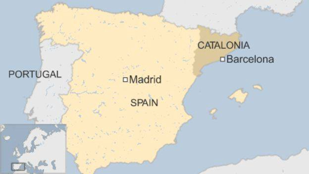 Map Of Spain Showing Catalonia.Catalonia A New State In Europe Graduatesofdemocracy Medium