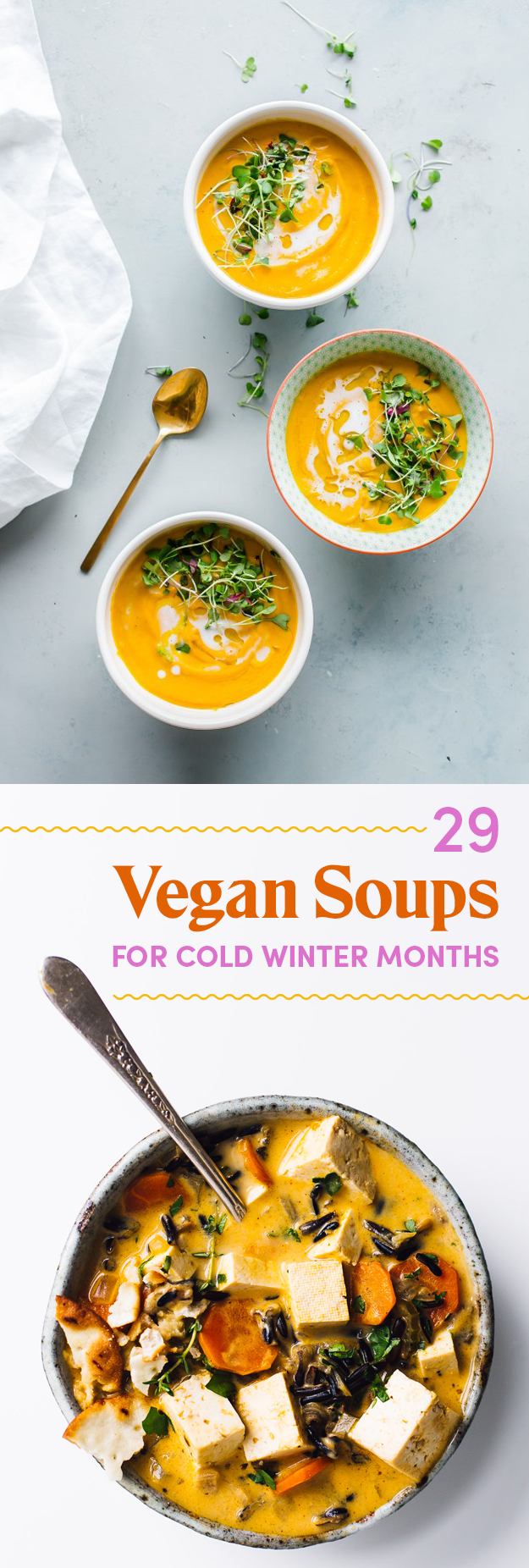 29 Delicious Vegan Soup Recipes For Cold Winter Months