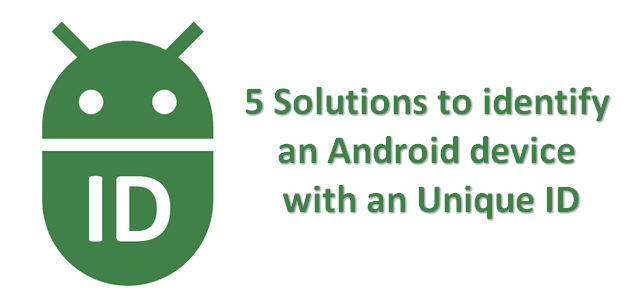how to retrieve an unique id to identify android devices