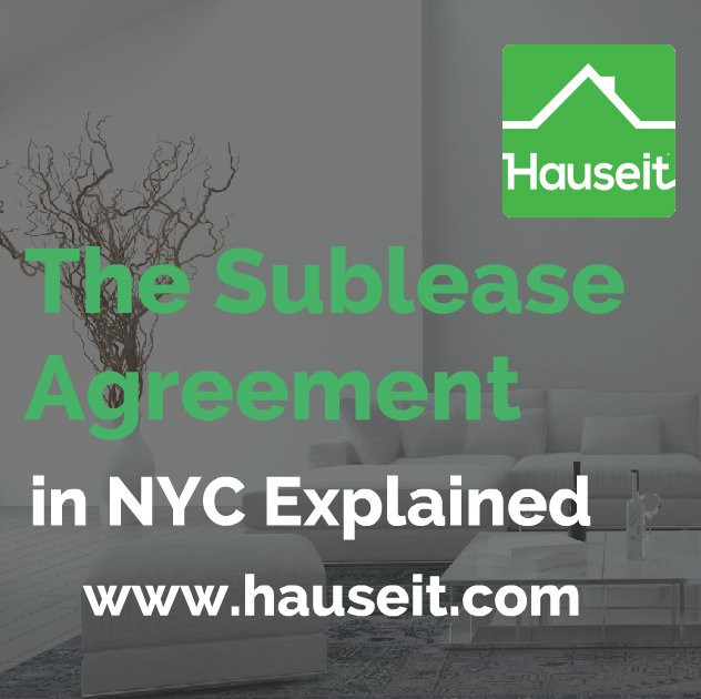 What Is A Sublease Agreement In Nyc Hauseit Medium