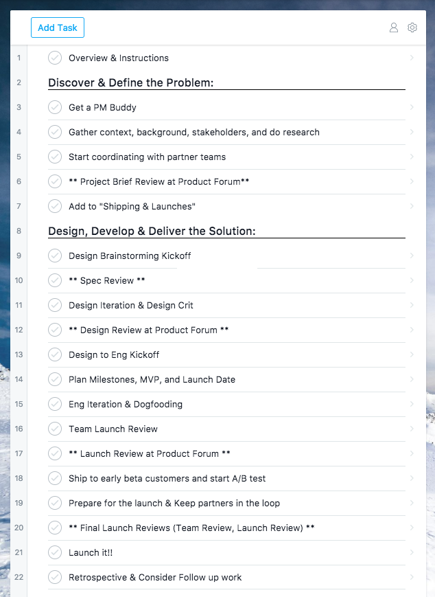 How we build products at Asana — The Product Process: From Inception ...
