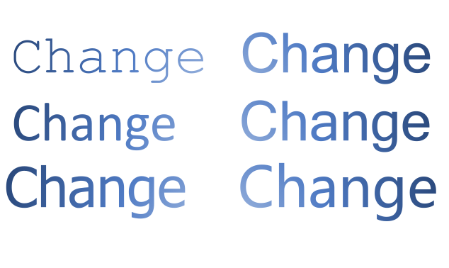 CAN WE CHANGE