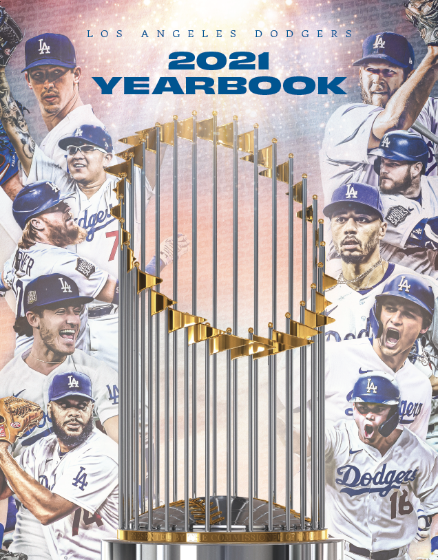 The 2021 Dodger yearbook: Celebrating the champs